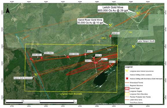 Riverside Resources Inc  - Longrose Gold Project